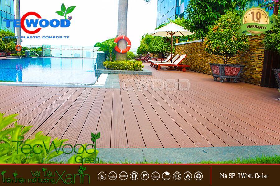 Sàn gỗ ngoài trời sang trọng 1