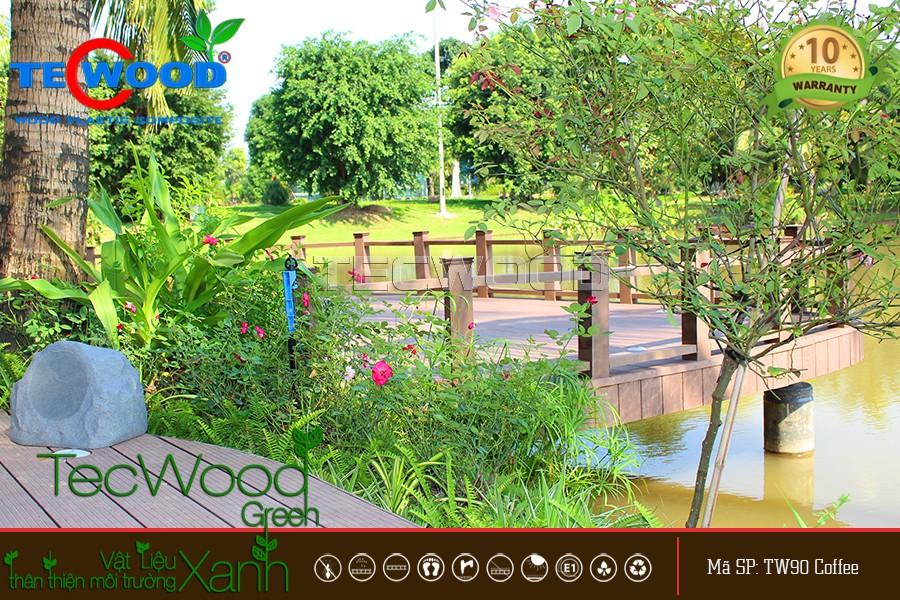 gỗ nhựa tecwood