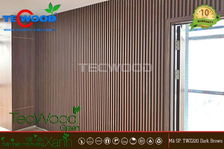 gỗ ốp tường trong nhà