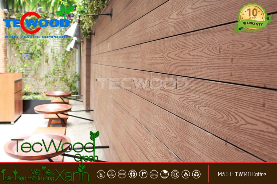 tấm ốp gỗ nhựa composite