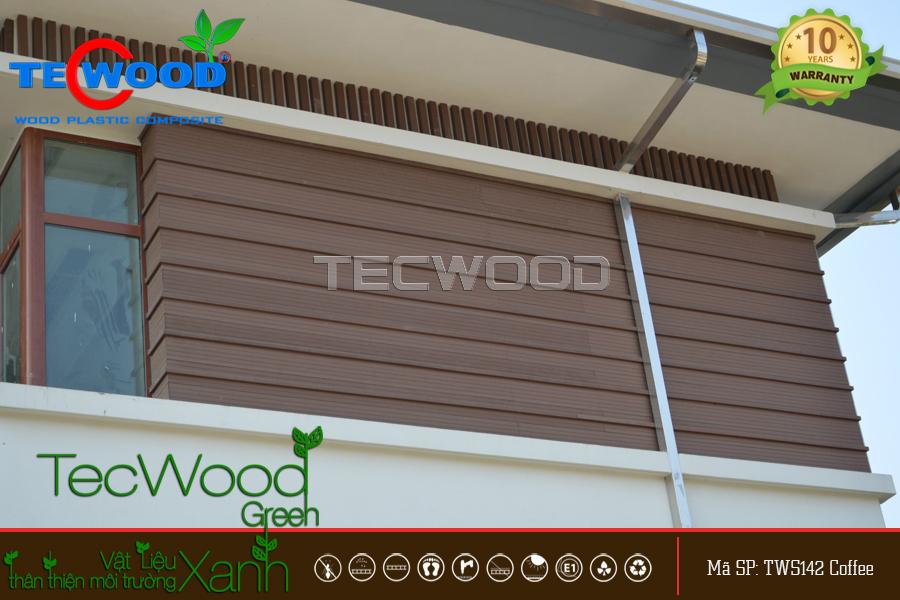 gỗ ốp tường ngoài trời