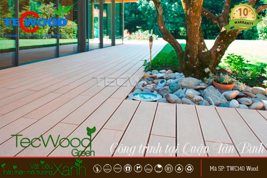 Sàn gỗ sân vườn 1