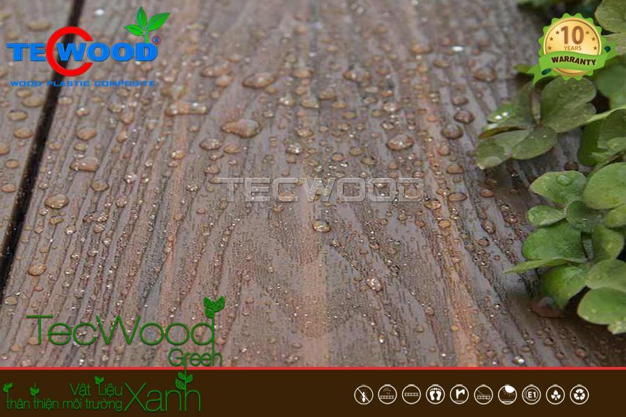 Khả năng chống nước ưu việt của sàn gỗ nhựa ngoài trời TecWood