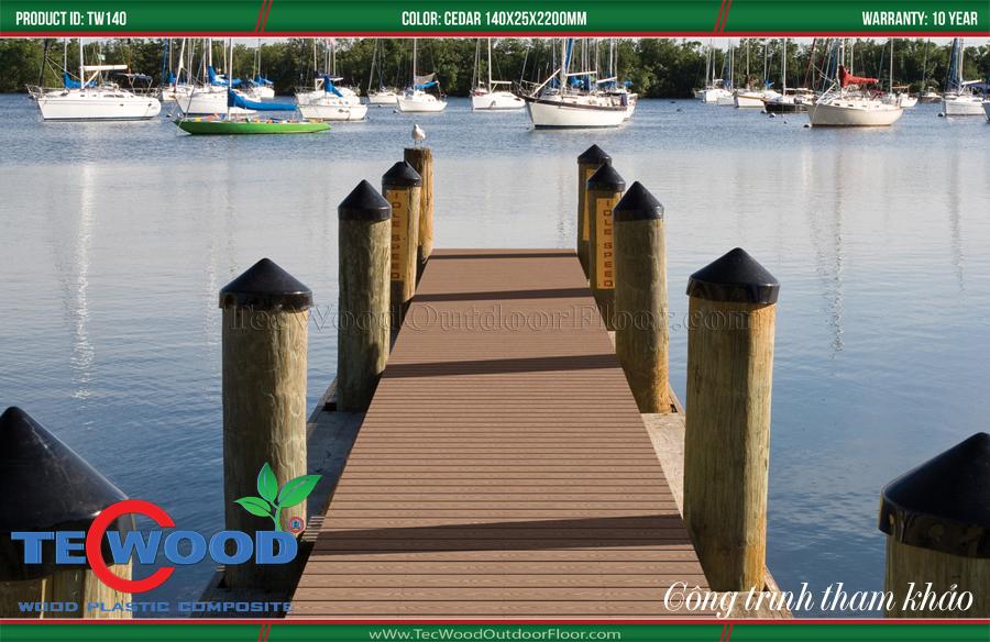sàn gỗ lót cầu cảng 2