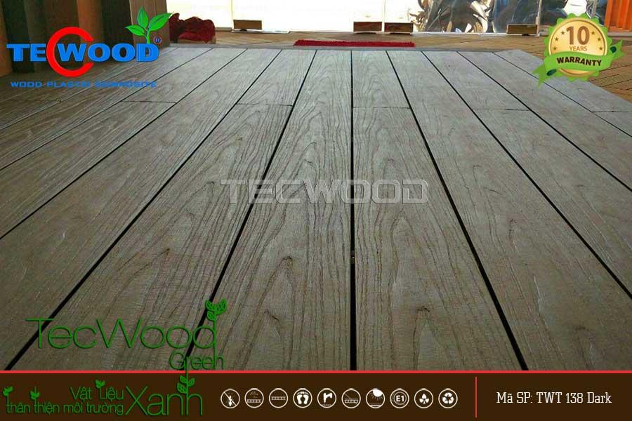Sàn ngoài trời vân gỗ tự nhiên đầy ấn tượng