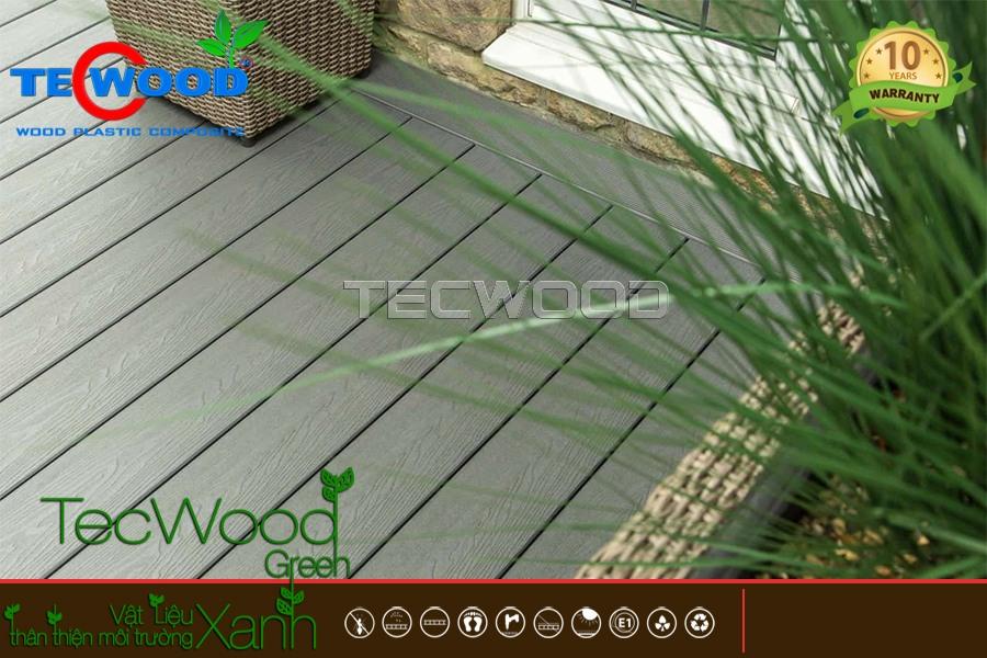 sàn gỗ ngoài trời TecWood chống phai màu