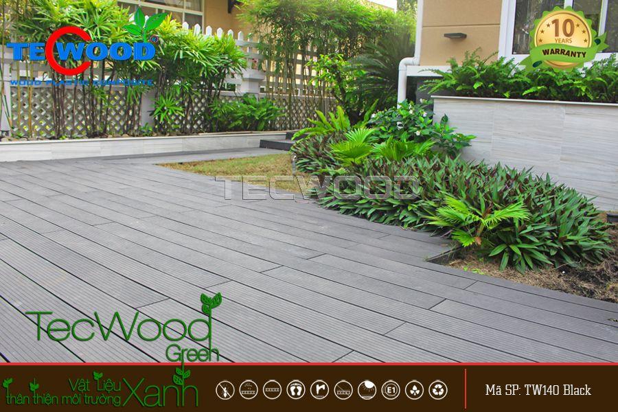 sàn gỗ lót sân vườn ngoài trời TecWood