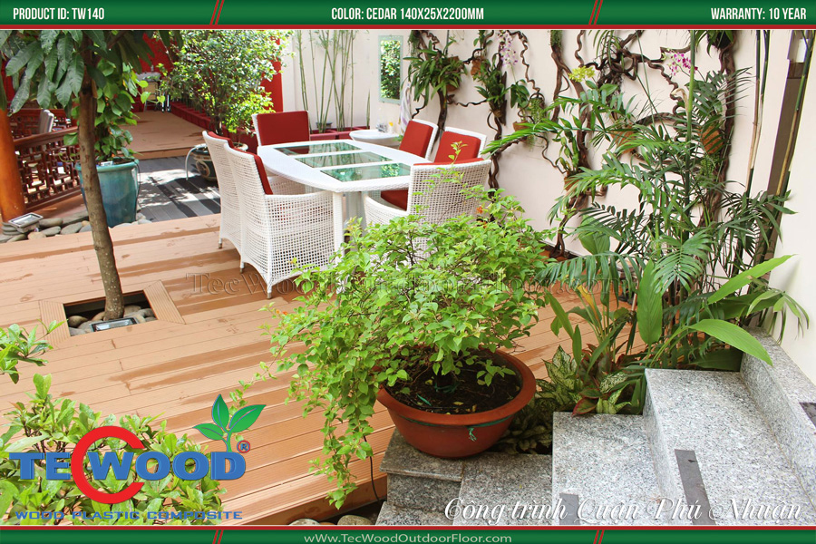 Sàn nhựa giả gỗ lót ván sàn 2