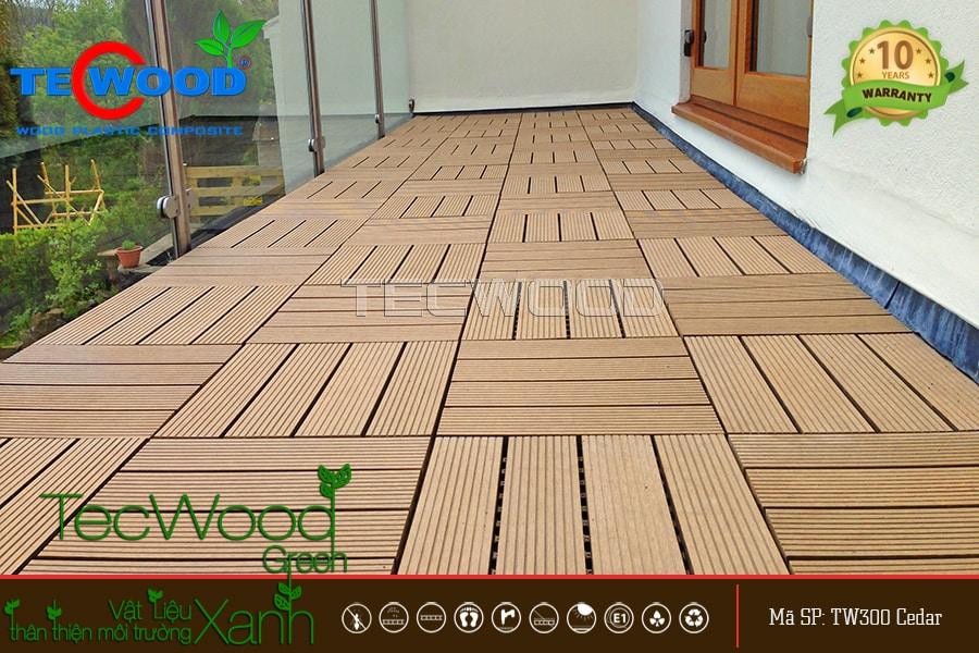 tấm vỉ gỗ nhựa TecWood