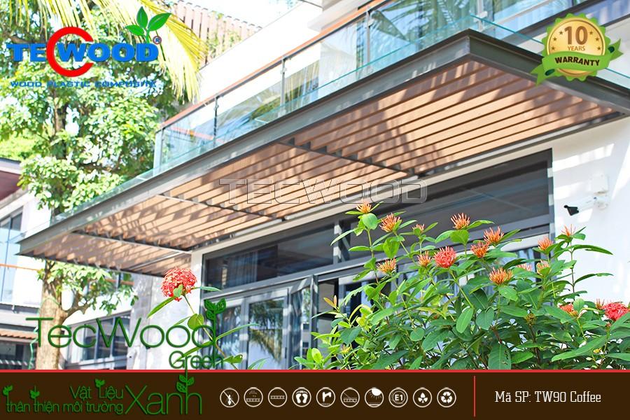 TecWood cung cấp và thi công lam gỗ nhựa trong nhà, ngoài trời