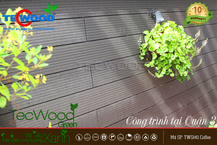 TecWood TWS140-Coffee