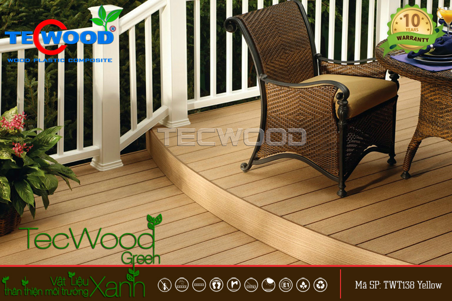TecWood TWT138-Yellow