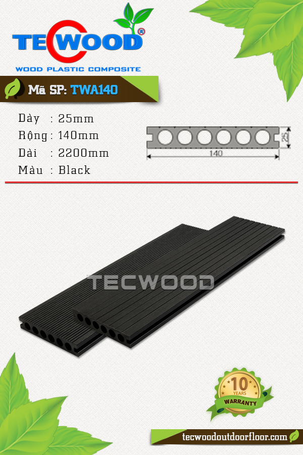 TecWood TWA140-Black